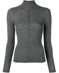 Chloé - High Neck Wool Jumper - Lyst