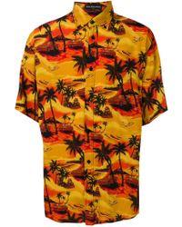 Balenciaga - Viscose Shirt - Lyst