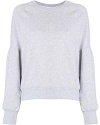 DKNY - Classic Fitted Sweatshirt - Lyst