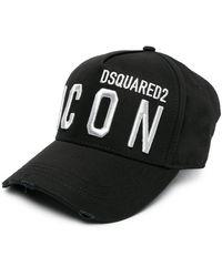DSquared² - Cappello da baseball con stampa - Lyst