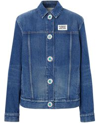 Burberry Denim Jacket - Blue