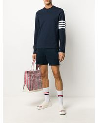 Thom Browne Shorts Blue