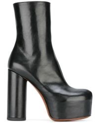 Vetements - Leather Boots - Lyst