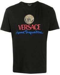 Versace Medusa Logo T-shirt - Black