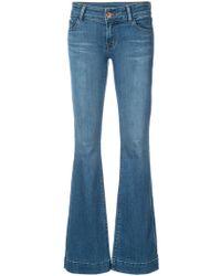 J Brand - Flared Lovestory Jeans - Lyst