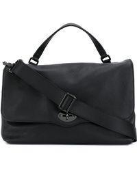 Zanellato Postina Leather Bag - Black
