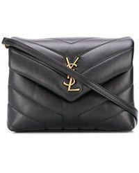 Saint Laurent Toy Loulou Crossbody Bag - Black
