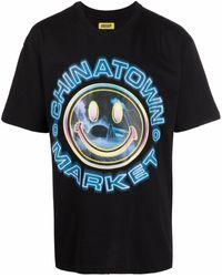 Chinatown Market Graphic-print T-shirt - Black