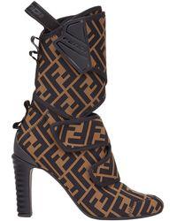Fendi Boots - Black