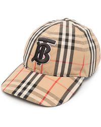 Burberry Check Baseball Cap - Multicolor