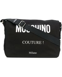 Moschino - Logo Printed Crossbody Bag - Lyst