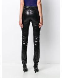 Saint Laurent Skinny jeans nero lucid