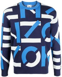 KENZO Jumpers Red - Blue