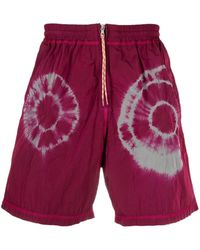 Aries - Shorts Pink - Lyst