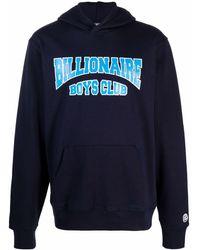 Billionaire Logo Hoodie - Blue