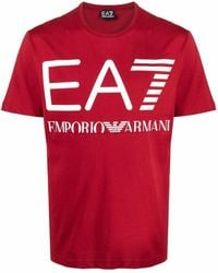 EA7 T-shirts And Polos Red