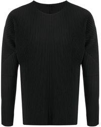 Issey Miyake Basic T-shirt - Black