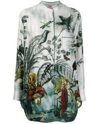 F.R.S For Restless Sleepers Blusa con stampa - Verde