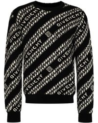 Givenchy Chain Logo Jumper - Black