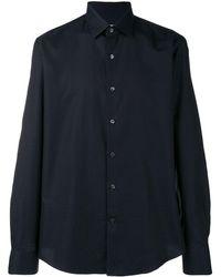 Ferragamo Gancini Printed Shirt - Blue