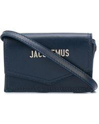 Jacquemus Le Porte Azur Cardholder - Blue