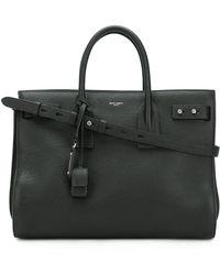 Saint Laurent - Sac Je Jour Leather Shoulder Bag - Lyst