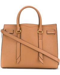 Rebecca Minkoff - Leather Handbag Sherry Satchel - Lyst