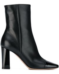 Gianvito Rossi Chunky Heel Boots - Black