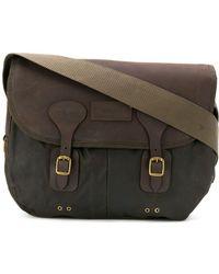Barbour - Leather Shoulder Bag - Lyst