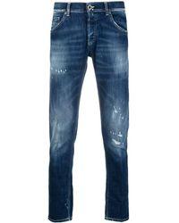 Dondup Jeans dritti - Blu