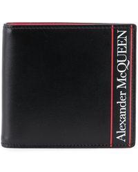 Alexander McQueen Logo Wallet - Black