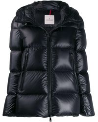6dd0531b7 Moncler Seritte Padded Down Jacket In Black - Lyst