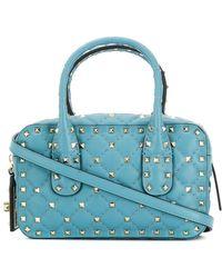 Valentino - Rockstud Spike Small Leather Shoulder Bag - Lyst
