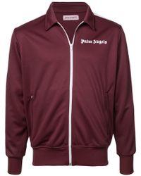 Palm Angels - Zipped Sweatshirt - Lyst