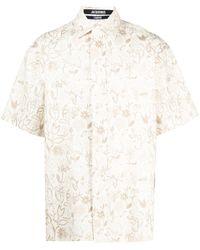 Jacquemus Floral-print Shirt - Multicolour