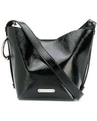 Rebecca Minkoff Kate Mini Leather Bucket Bag - Black