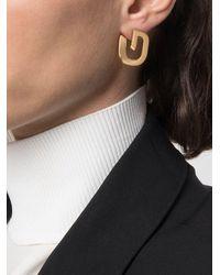 Givenchy Orecchini a bottone G - Metallizzato