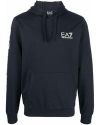 EA7 Sweaters Blue