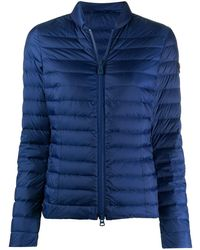 Peuterey Feather Down Bomber Jacket - Blue