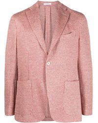Boglioli Linen Jacket - Red