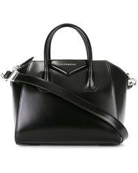 Givenchy Borsa Antigona piccola in pelle box calf liscia - Nero