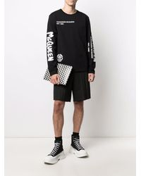 Alexander McQueen T-shirts And Polos Black