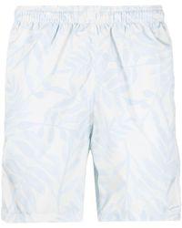Jacquemus Shorts con stampa - Bianco