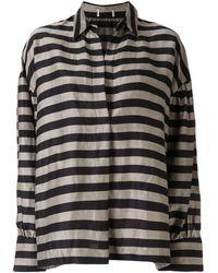 Rebecca Vallance Nautique Stripe Print Shirt - Multicolor