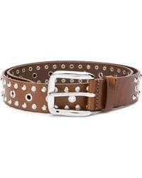 Isabel Marant - Rica Leather Belt - Lyst
