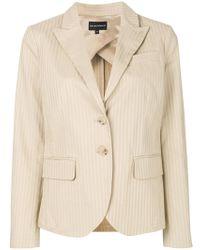 Emporio Armani - Cotton Blazer - Lyst