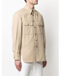 Lemaire Shirts Beige - Natural