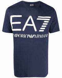 EA7 T-shirts And Polos Blue