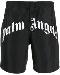 Palm Angels - Costume Curved Logo - Lyst