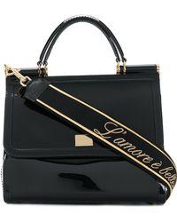 Dolce & Gabbana - Sicily Semi-transparent Rubber Bag - Lyst